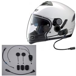 This J&M HS-ICD629-N143-HO Elite-series helmet headset has been designed to be installed into Nolan N103 N90 and N43 Helmets