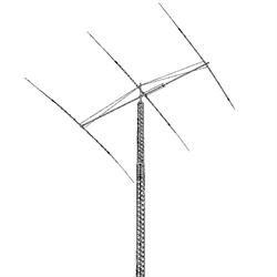 HF Rotatable Dipole Antenna,  30/40 metres, Discoverer Series.
