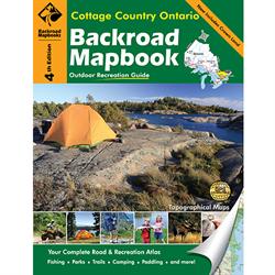 Backroad Mapbooks: Cottage Country Ontario    Barrie, Dorset, Haliburton, Huntsv...
