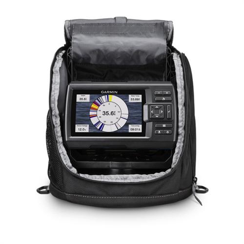 Garmin striker plus 5cv ice fishing bundle radioworld for Garmin ice fishing transducer