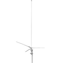 Tri-band 52-146-446 MHz base antenna, 3.0-6.2-8.6 db, 8'