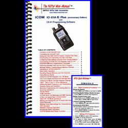 Icom ID-51A/E Anniversary Edition Mini-Manual & Card Combo