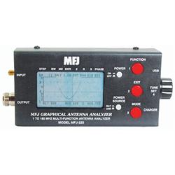 1.8-170 MHZ HF/VHF Two-Port Graphic Antenna Analyzer