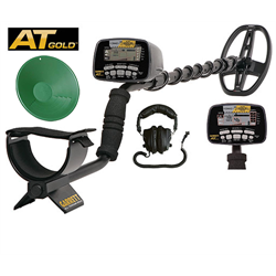 Garrett AT Gold Metal Detector with 5x8 (14x20cm) PROformance searchcoil, All-Me...