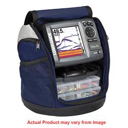 5-inch portable fishfinder/chartplotter ice machine  that combines CHIRP Sonar w...