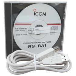 RS-BA1#12, IP REMOTE CONTROL SOFTWARE FOR COMPATIBLE ICOM AMATEUR (INC. IC-7610)