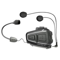 Team Set Headset, Rider to Passenger Full Duplex, A2DP, Detachable Speakers, Int...