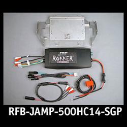 RFB-ROKKER® XT-P 500w 4-CH Amp 2014-16 Harley StreetGld w/Lwr-Rear Spkrs