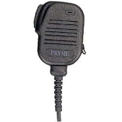Heavy-duty, water resistant remote speaker microphone,  x00I L connector