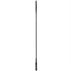 50-144-440 MHz rubber duckie antenna SMA thread, 20.5inch