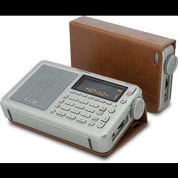 Eton Executive Satellit Audio Component, Grey (NGWSATEXEC) Shortwave Radio
