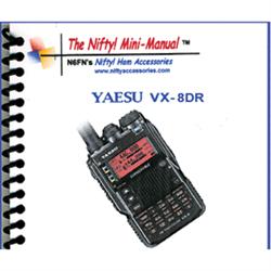 Mini Manual for Yaesu VX-8DR