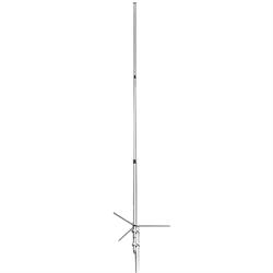 Dual band 146/446MHz base antenna, 8.5-11.9 db, 16'