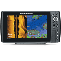 "The HELIX 10 SI GPS features a super bright LED backlit 10.1"" display"