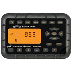 Bluetooth Streaming Audio, AM/FM/WB WaterproofMini Radio, 2 Channel amplified au...