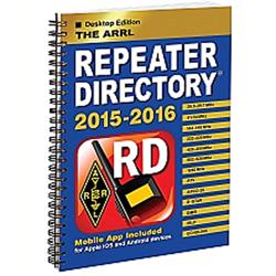 The ARRL Repeater Directory (Desktop Edition) - BOOK-2205 - 978-1-62595-026-0