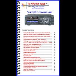 MINI MANUAL FOR YA-FTDX101D AND FTDX101MP
