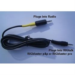Rig Control Cable for CI-V (Icom) Radios