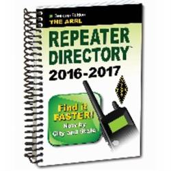 The ARRL Repeater Directory (Desktop Edition) - BOOK-0543 - 978-1-62595-054-3