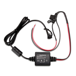 Use this power/ground cable in conjunction with a mount bracket (sold separately) to attach your zumo® to your motorcycle