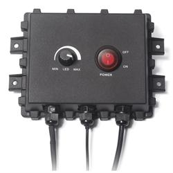 Camera Control Box, 12V Power Supply Cable, Camera light controls, Waterproof