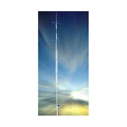 8 band vertical 6, 10, 12, 15, 17, 20, 30 & 40 metres