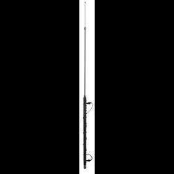 10-Band HF/VHF 80-2M Mobile ANT, 200W, 3/8-24 STUB