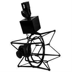 "Shock  Mount for 2"" boom microphones (Black Color)"