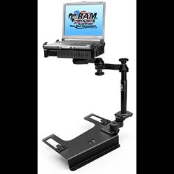 No-Drill™ Laptop Mount for the Chevrolet Silverado