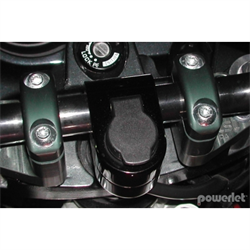 "7/8"" To 1"" Black Handlebar Outlet"