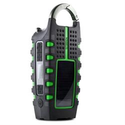 Eton Scorpion II - Rugged, Portable Multi-Purpose Digital Radio, Charges Smartphones..