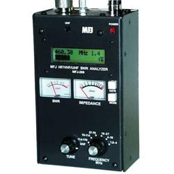 MFJ-269C HF/VHF/UHF Antenna/SWR/RF Analyzer w/ LCD, Counter & Meters