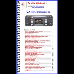 MINI MANUAL FOR YAESU FTM300DR