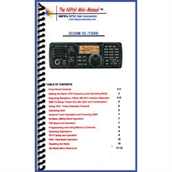 Compact IC-7200 Mini-Manual