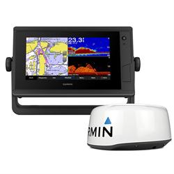 GPSMAP 742XS PLUS W/GMR18 HD+, 010-02320-51,