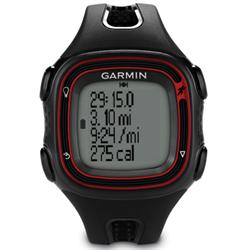 Black & Red GPS Running Watch, 55 x 32 pixels, Water resistant (50m), High Sensi...