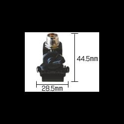 COMET RS-020B Small Black Hatch Mount