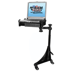 No-Drill Laptop Mount for the Chevrolet Express Van & GMC Savana Van