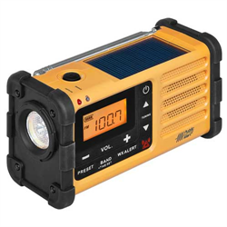 Am/Fm Weather Alert Radio - Powered By Handcrank Usb Solar MMR-88