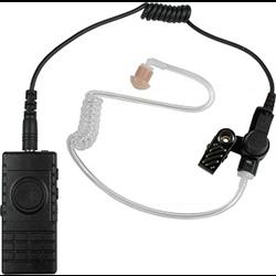 BTH-300-ZU-KIT2, BLUETOOTH LAPEL MIC W/ ACOUSTIC TUBE EARPHONE, ZELLO/WAVE COMP.
