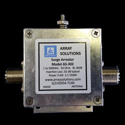 AS-302U, 3KW, 5KW PEP COAXIAL LIGHTNING ARRESTOR, SO239, 1-500 MHZ