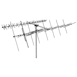 The FB-217SAT is a 60 inch crossboom assembly for the Hy-Gain OSCAR Link Antennas