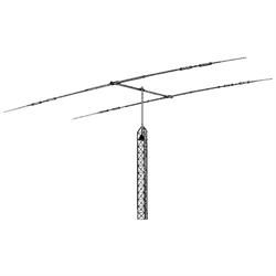 Tri-Band - 10/15/20 Meters - 2 Elements, 6 foot boom