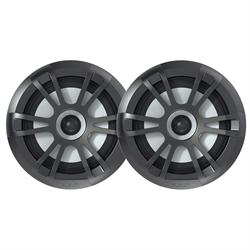 EL Series Full Range Shallow Mount Marine Grey Speakers