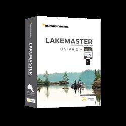 LakeMaster Humminbird Charts for Ontario