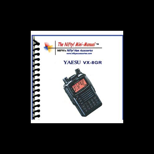 Amazon. Com: the nifty mini manual for the yaesu vx-8dr 144/220/430.
