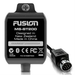 Fusion MS-BT200 Marine Bluetooth Module with Data Display, Marine Bluetooth Modu...