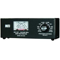 HF/VHF Watt Meter, 1.8 - 60 MHz