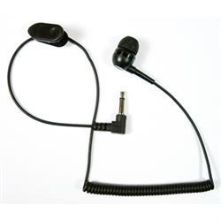 Pryme EH-1189SC - Listen Only Earpiece - Ear Bud Style w/Coil Cord w/3.5mm Plug ...