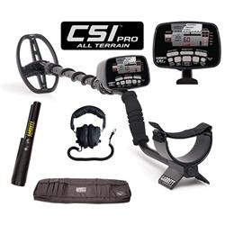 Garrett CSI Pro All Terrain Metal Detector includes CSI Pro-Pointer, Deluxe Head...